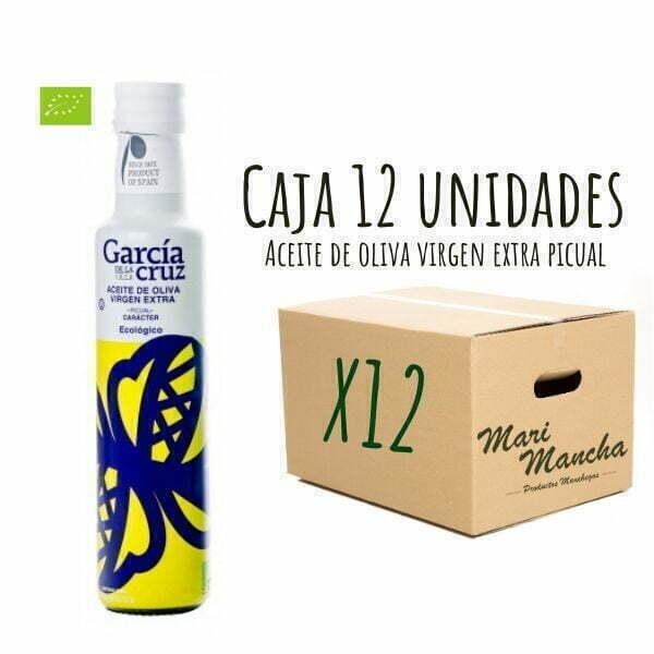 Picual ecológico de García de La Cruz 250ml caja de 12