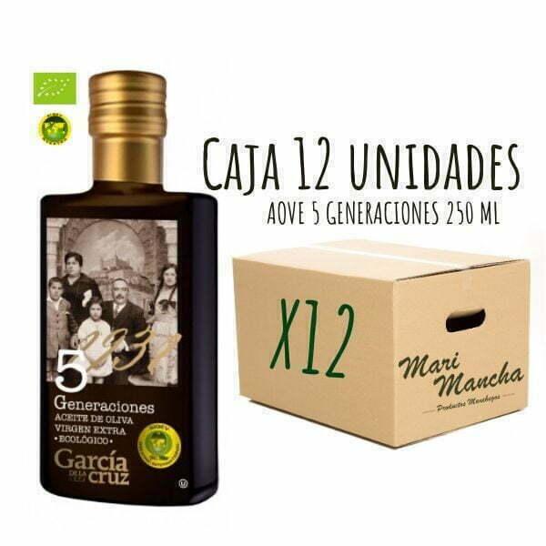 Caja 12 uidades 5 Generaciones de García de La Cruz 250ml