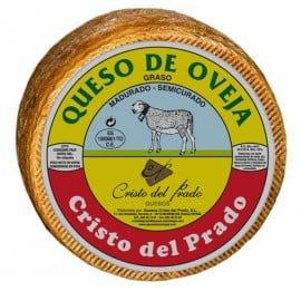 queso cristo del prado semicurado grande