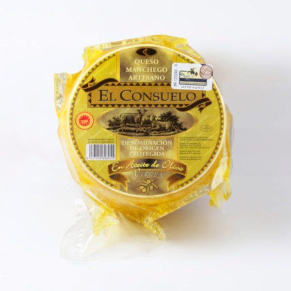 queso manchego en aceite el consuelo pequeño