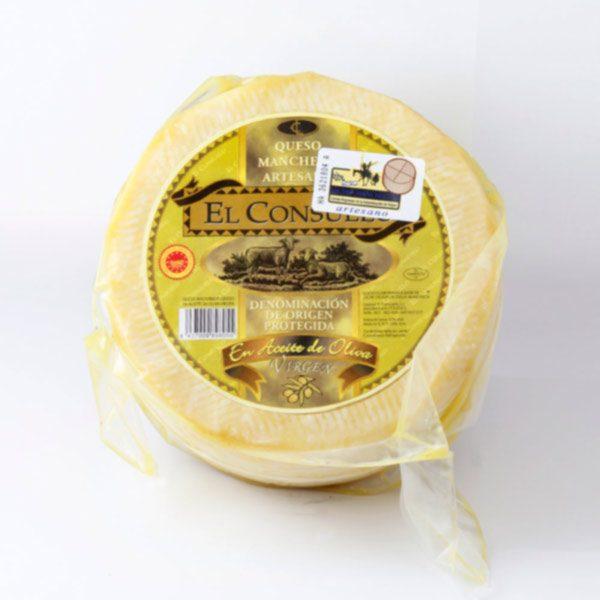 queso manchego en aceite el consuelo mediano