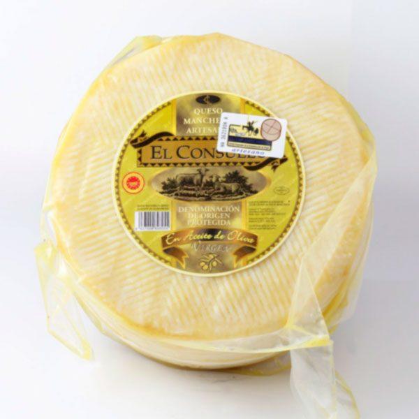 queso manchego en aceite el consuelo grande