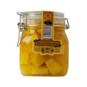 tarro de queso manchego en aceite el consuelo