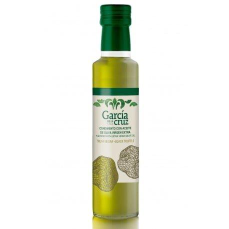 aceite de oliva aromatizado con trufa negra