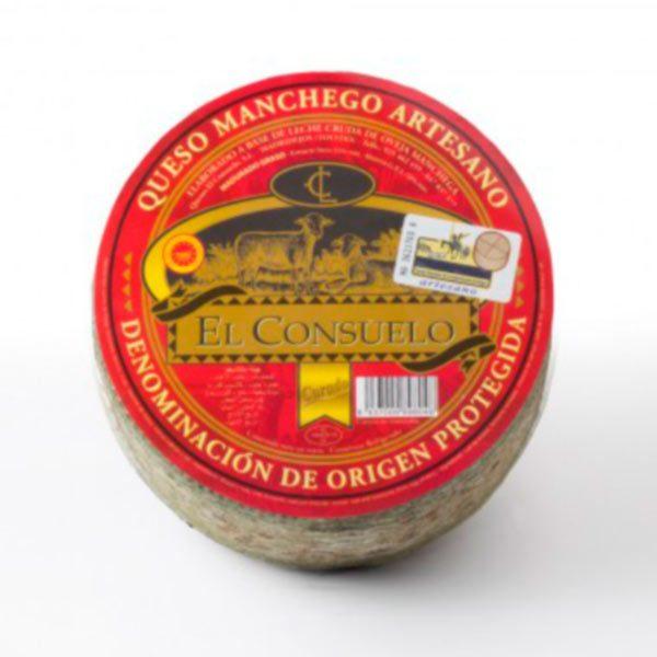 queso manchego el consuelo curado mediano