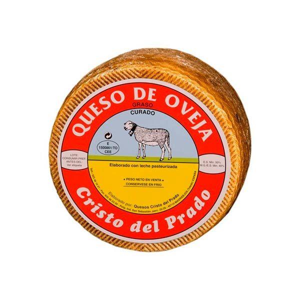 queso curado cristo del prado mediano