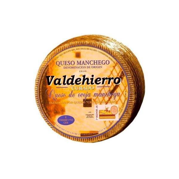 queso curado valdehierro mediano