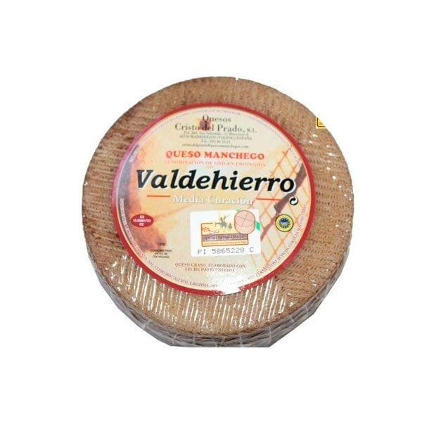 queso manchego semicurado valdehierro pequeño