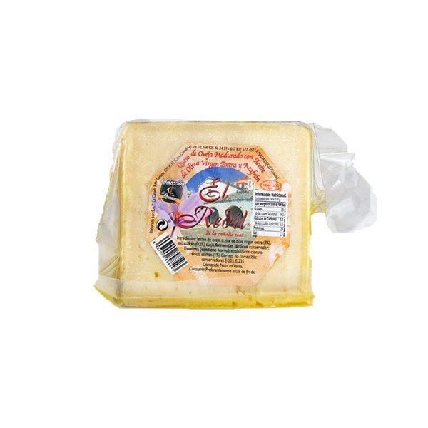 queso de oveja con azafrán