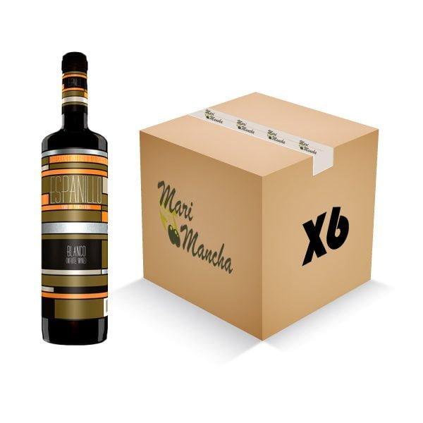 vino blanco seco espanillo caja