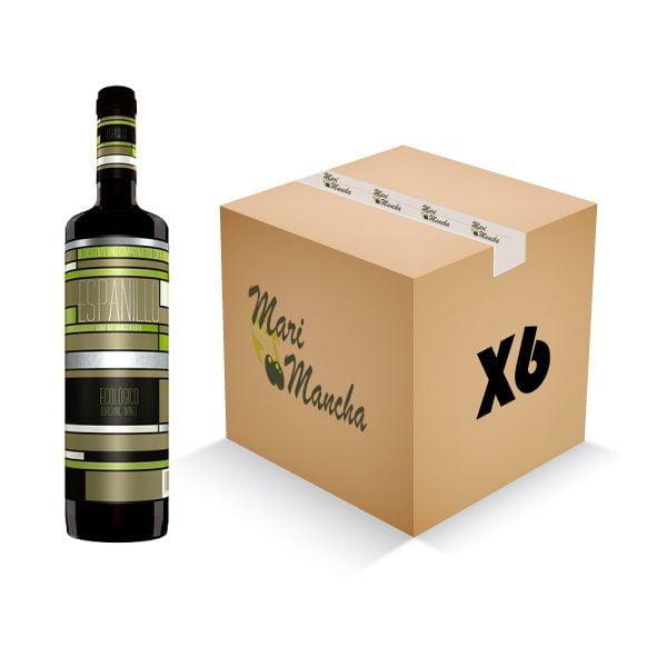 vino tinto ecológico espanillo caja