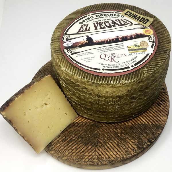 queso manchego curado el vegazo