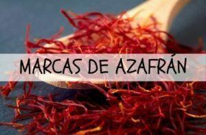 MARCAS DE AZAFRAN