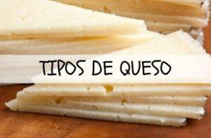 TIPOS DE QUESO